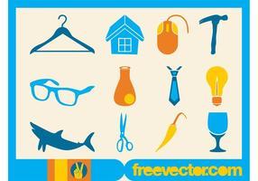 Collection d'icônes vectorielles gratuites