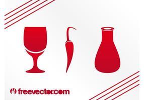 Essen Und Trinken Icons