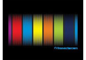 Rainbow Vector Background Design