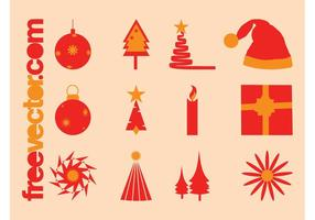 Christmas Vector Icons Pack