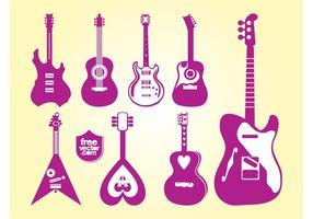 Guitars Vectors