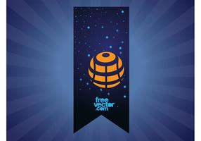 Space-banner-vector