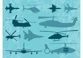 Aircraft-vectors