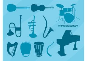 Musical Instruments Vector Collection