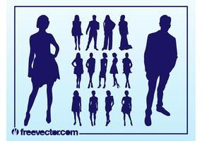 Vector Fashion Models