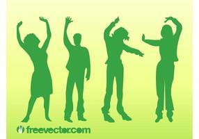 Dancing Vector People
