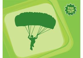 Parachuter Vektor