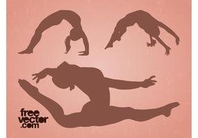 Flexible Girls Vector