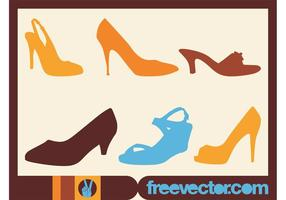 Sapatos Vector Graphics