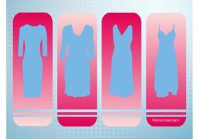 Vestidos de vetores