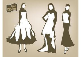 Femmes dans les robes