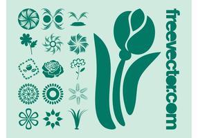 Vector plantafbeeldingen