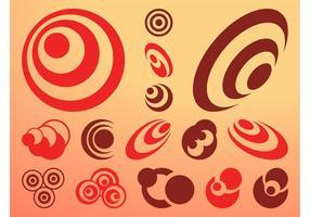 Vektor Kreise Icons