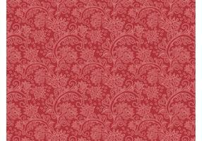 Vetor de padrão floral vintage