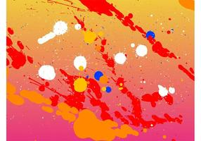 Splatter Vector Background