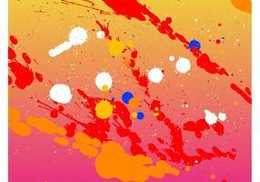 Splatter Vektor Hintergrund