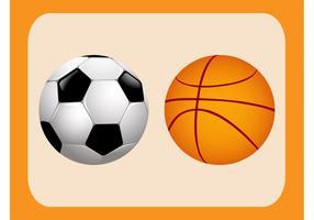Vetores de bolas esportivas