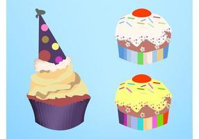Vector-cupcakes
