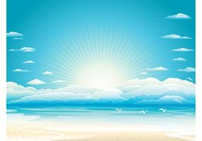Beach Vector Graphics
