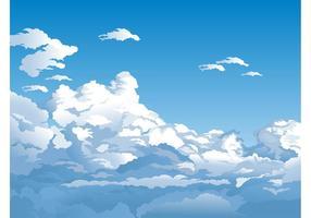 Fundo do céu do vetor