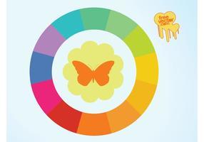 Glada färger