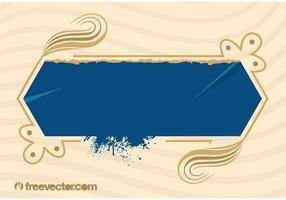 Blue Grunge Banner