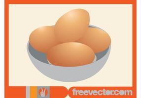 Gratis ägg vektor