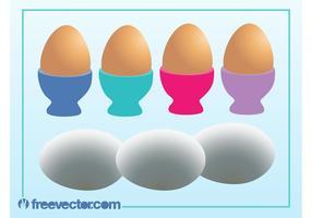 Vector Huevos