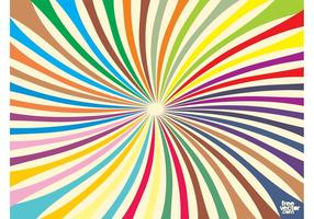 Colorful Burst Vector