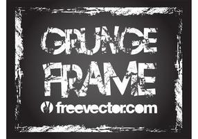 Vetor frame grunge