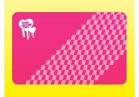 Pink-business-card-vector