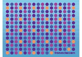 Dots Vector Hintergrund