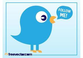 Twitter Bird Vector