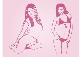Sexy Girls Vectors