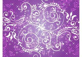 Floral-background-graphics-set