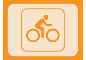 Vector do ícone do motociclista