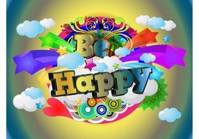 Be-happy-vector