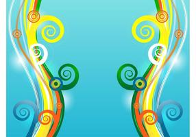 Colorful Vector Swirls