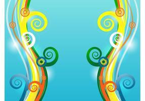 Colorful Vector Swirls