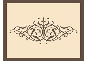 Antique Swirling Vector