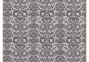 Damask Floral Pattern