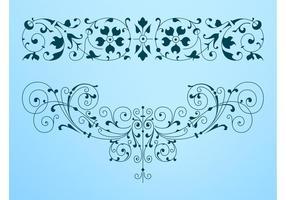 Decorative Antique Swirls