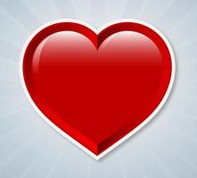 Vector-heart-sticker