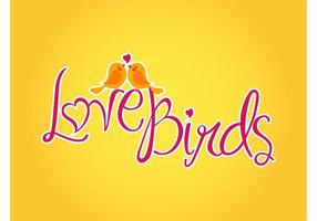 Vector Love Birds
