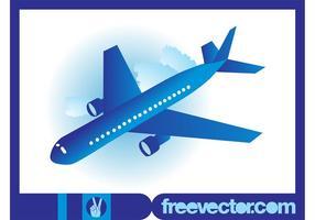 Vector de icono de avión
