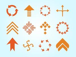 Arrows Logos Vector
