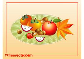 Autumn Food Vector