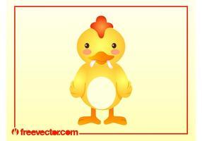 Cartoon-chicken-vector