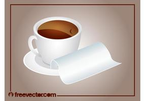 Morning Coffee Vector
