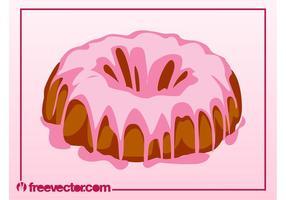 Bolo de bolo saboroso